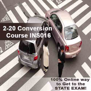Florida - 2-20 CONVERSION COURSE (INS016FL40)
