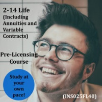 Florida - 2-14 Life (including Annuities and Variable Contracts) Pre-Licensing Course